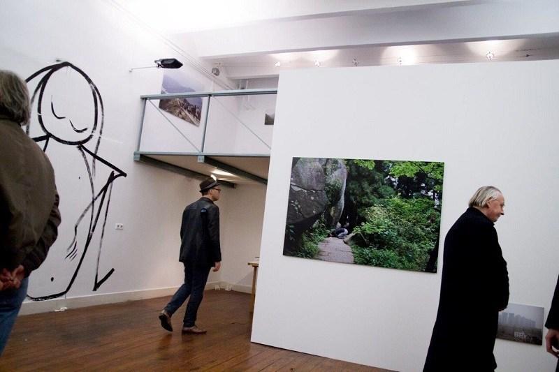 WW 11.11.15 expositie Antoinette Nausikaä in PuntWG
